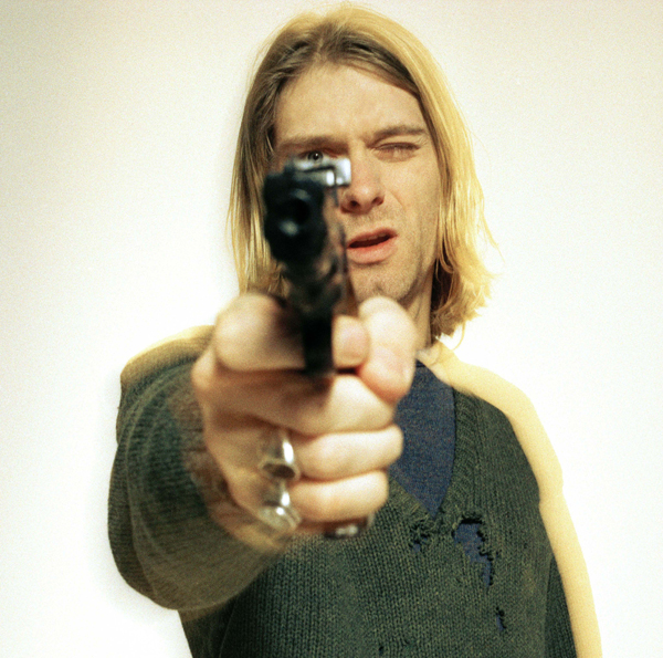 Photo de légende : le dernier shoot de Kurt Cobain