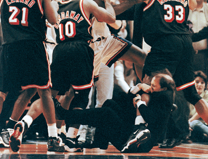 NBA Fight Club : Jeff Van Gundy, ce héros improbable